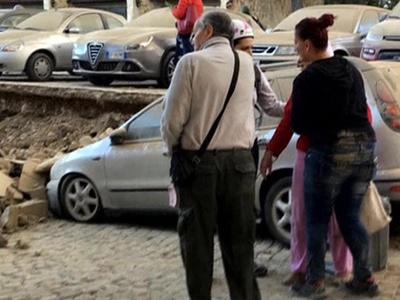 Сильное землетрясение в Италии. Фотолента