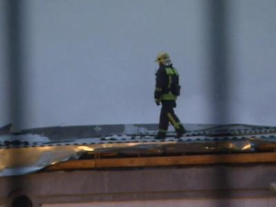 Пожар на складе в Гольянове. Фотолента