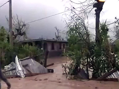 """На Гаити объявлен траур по жертвам урагана """"Мэттью"""""""