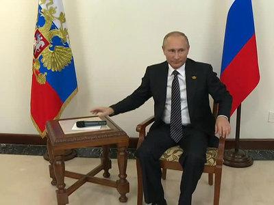 Путин пошутил про прослушку, но посоветовал быть осторожными