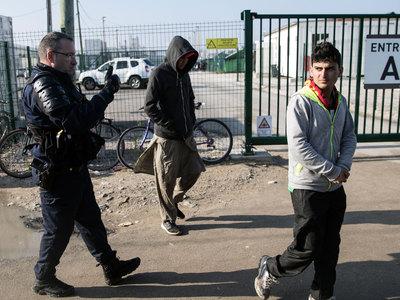В Кале передрались мигранты