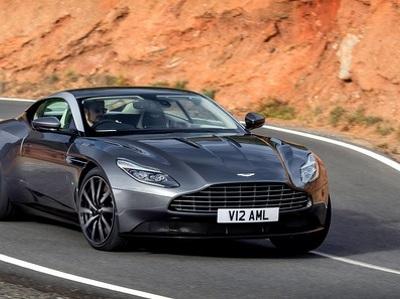 В России представили новейший суперкар Aston Martin