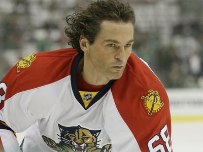 Яромир Ягр вошел в четверку лидеров по числу игр в НХЛ