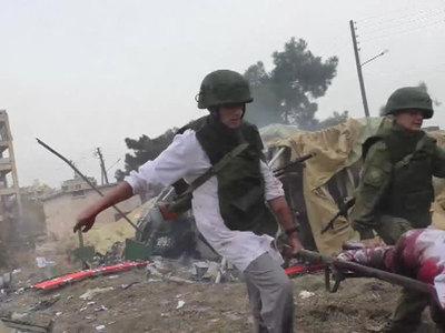 Погибшие военные медики помогали мирным сирийцам
