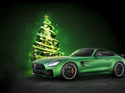 Mercedes в Москве оплачивает парковку владельцам Audi и BMW