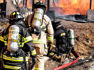 Пожар уничтожил более 200 зданий в Сантьяго