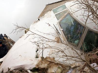 Киргизия опровергла сообщения о росте числа жертв авиакатастрофы