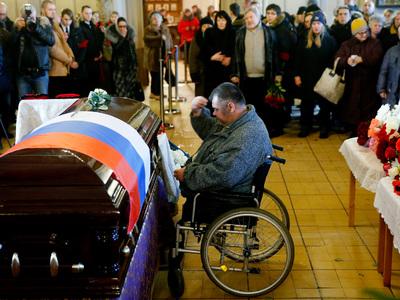 В Москве, Мытищах и под Владимиром простились с жертвами катастрофы Ту-154