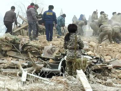 Киргизия скорбит по погибшим в результате падения самолета под Бишкеком