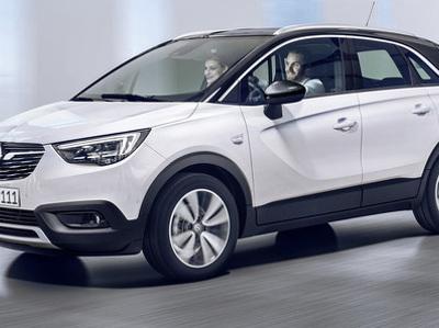Opel представил вседорожник на смену компактвэну Meriva