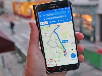 Карты Google предупредят о проблемах с парковкой