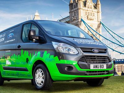 Ford договорился с властями Лондона о тестах гибридных фургонов