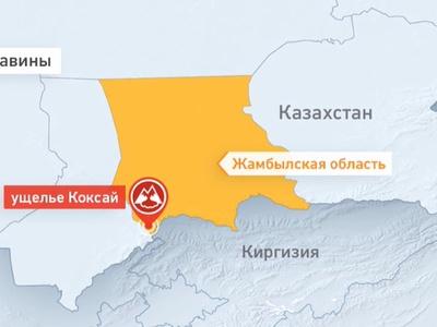 Под лавиной в горах Казахстана найдены 7 погибших солдат