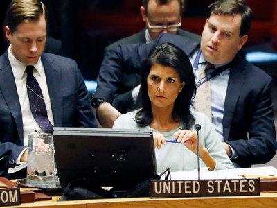Новый постпред США в ООН пообещала сохранить санкции к России за Крым