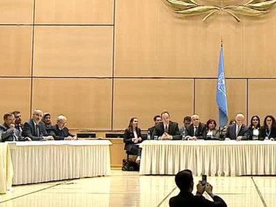 В Женеве начался четвертый раунд переговоров по Сирии