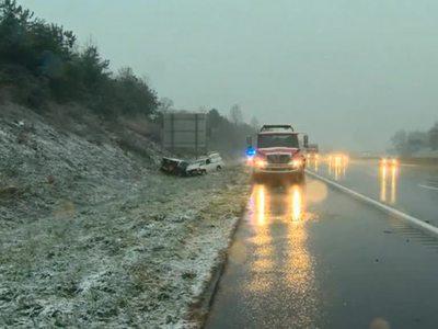 На Восточное побережье США обрушился снежный шторм