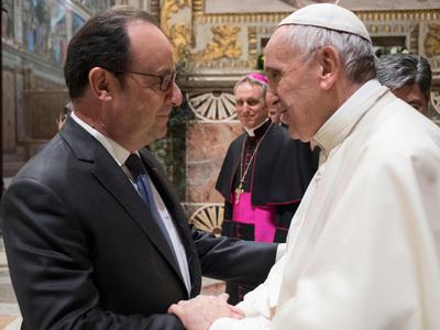 Папа Римский встретился с лидерами стран Европейского союза