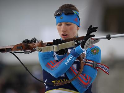 Миронова выиграла спринт на чемпионате России по биатлону