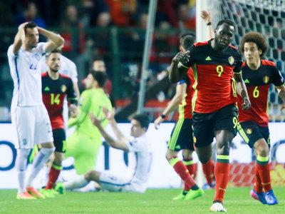 Бельгийцы спаслись в игре со сборной Греции