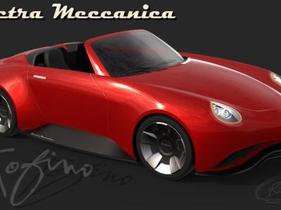Канадцы стилизовали доступный электроспорткар под Porsche Boxster