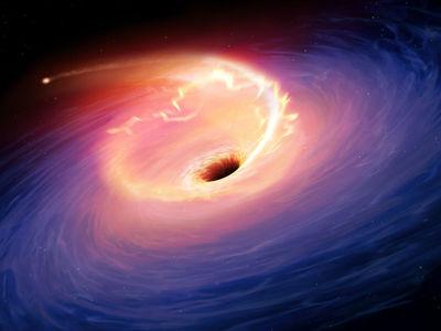 """Астрономы предъявили межгалактический мост из тёмной материи и анонсировали """"фото"""" чёрной дыры"""