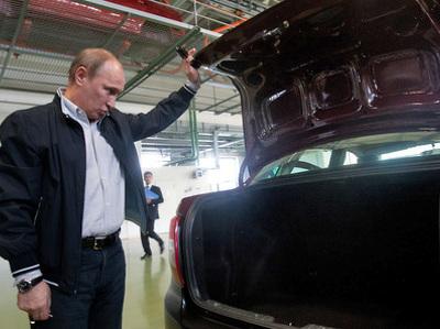 """""""Волга"""", Lada, Bentley: чиновники России отчитались о личных автомобилях"""