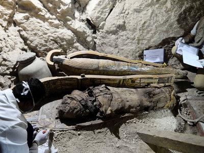 В гробнице древнеегипетского судьи нашли шесть мумий