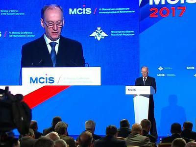 Патрушев открыл Московскую конференцию по безопасности