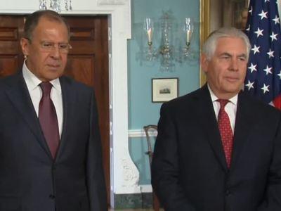 Лавров в разговоре с Тиллерсоном призвал США не допустить провокаций в отношении сирийских военных