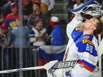 Андрей Василевский назван лучшим вратарем чемпионата мира