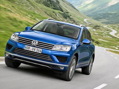 Volkswagen остановил российскую сборку модели Touareg