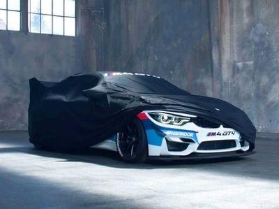 """Компания BMW показала тизер экстремально """"злого"""" купе M4 GT4"""