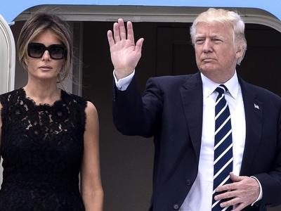 Стефано Габбана поблагодарил Меланию Трамп за выбор платья