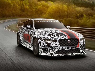 Самым мощным дорожным автомобилем Jaguar стал седан XE