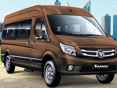Foton будет продавать в России микроавтобусы