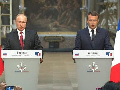 Путин и Макрон беседовали почти три часа