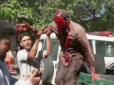 Взрыв в Афганистане. Есть жертвы