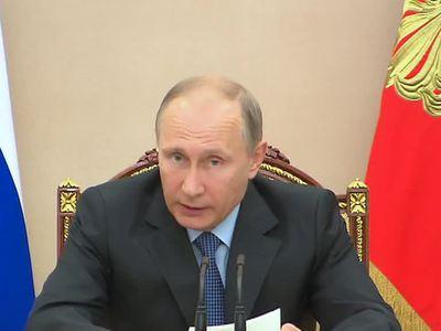 Путин обеспокоен падением рождаемости