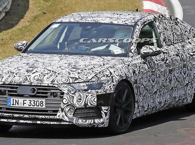 """Audi вывела на тесты """"подогретую"""" версию A6 нового поколения"""