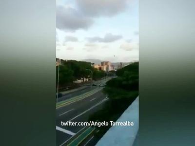 Здание Верховного суда Венесуэлы подверглось атаке с вертолета