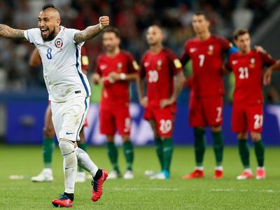 Сборная Чили - первый финалист Кубка конфедераций-2017