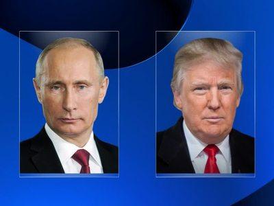 Белый дом подтвердил разговор Трампа и Путина