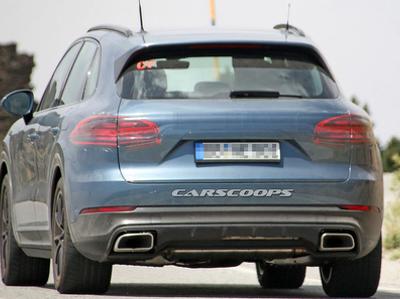 Внешность нового Porsche Cayenne практически рассекречена