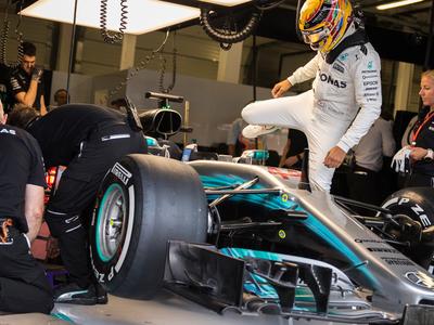 Формула-1. Пятый поул Хэмилтона на Гран-при Великобритании