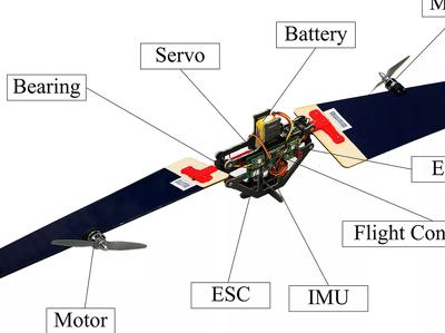 Дрон-трансформер летает, как самолет, и зависает в воздухе