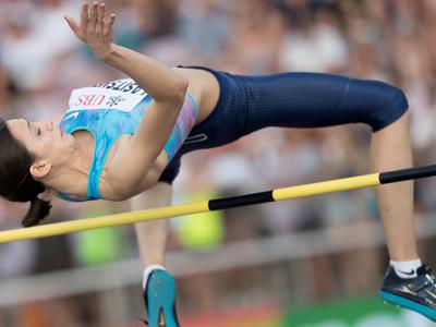 Прыжки в высоту. Мария Ласицкене выиграла 14 турниров подряд