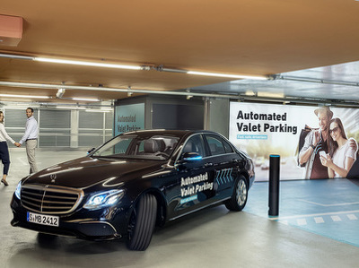 """Bosch и Daimler показали в действии """"беспилотную"""" парковку"""