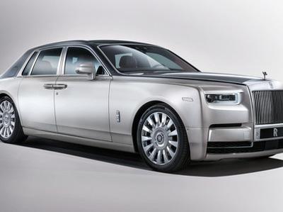 Представлен Rolls-Royce Phantom нового поколения