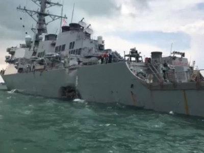 Малайзия возглавила поиски пропавших моряков ВМС США