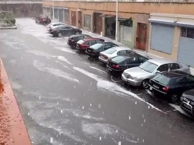 По северу Испании ударил снеговой шторм. Видео
